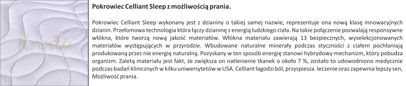 Pokrowiec celiant sleep
