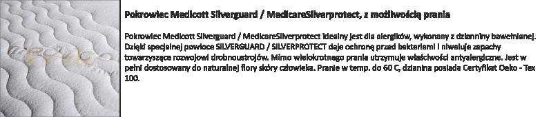 Pokrowiec medicot Silverguard Medicare silverprotect